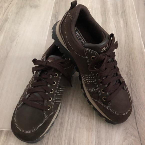 384b0f4d7f99e Shoes | Skechers Grand Jams Chocolate Brown Sneakers Sz 8 | Poshmark